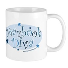 Yearbook_DivaBlue Mugs