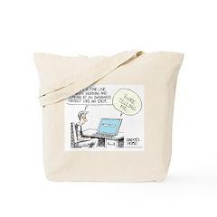 Dad's Computer Tote Bag