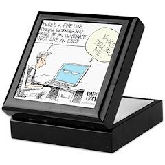 Dad's Computer Keepsake Box