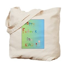 Happy Father's Day Sabba (Heb) Tote Bag