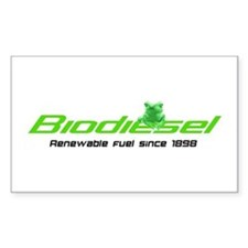 biodiesel Rectangle Decal