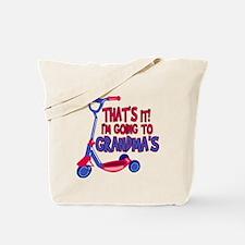 Going To Grandma's Tote Bag