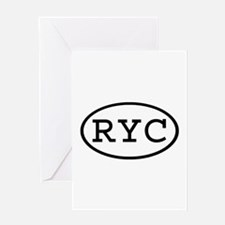 RYC Oval Greeting Card