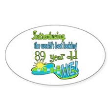 Best Looking 89th Oval Decal