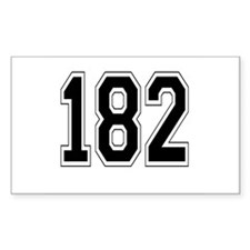 182 Rectangle Decal