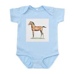 Morgan Foal Infant Bodysuit- 3 color choices!