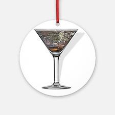 New York Cosmopolitan Ornament (Round)