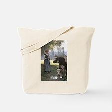 Knittin' Cowgirl's Tote Bag #2