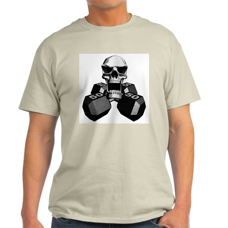 Workout Skull Light T-Shirt