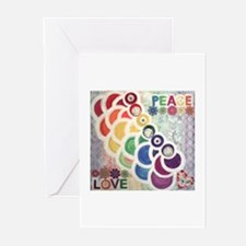 PEACELOVE Greeting Cards