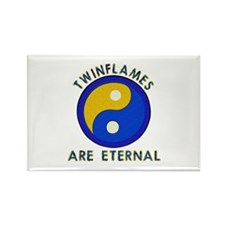 ...Twinflames... Rectangle Magnet