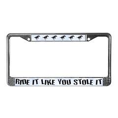 Horse Lover License Plate Frame