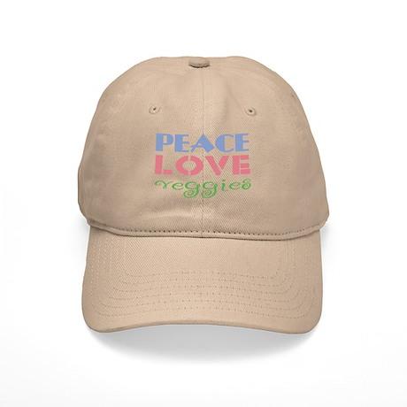 Peace Love Veggies Cap