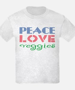 Peace Love Veggies T-Shirt