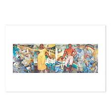 Four Conrad Albrizio Frescos (1938) Postcards (Pac