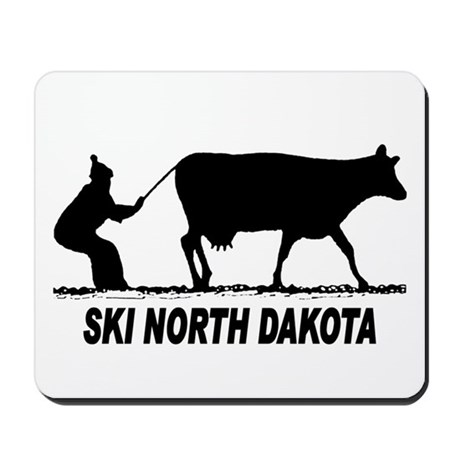 Ski North Dakota Mousepad