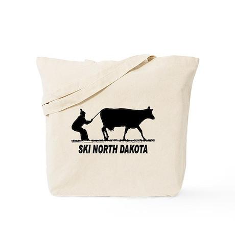 Ski North Dakota Tote Bag