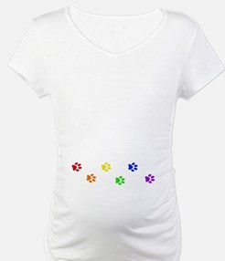 Rainbow paw prints Shirt