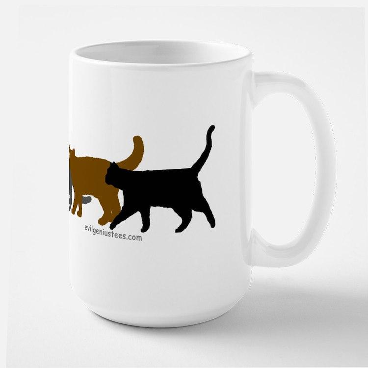 Earthtone cats Mug