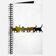 Earthtone cats Journal