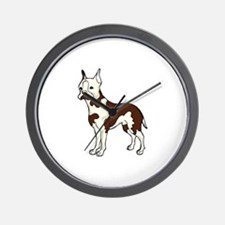Unique Boston terrier items Wall Clock