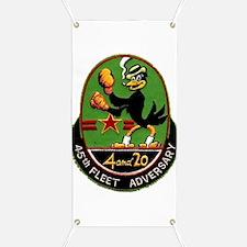 45th Fleet Adversary Banner