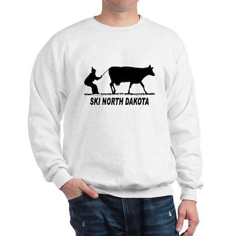 Ski North Dakota Sweatshirt