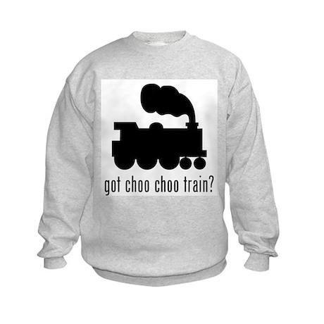 Choo Choo Train Kids Sweatshirt