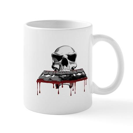 Skull Razorblade Mug