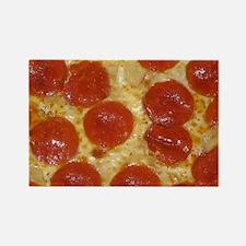 big pepperoni pizza Magnets