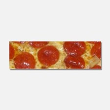big pepperoni pizza Car Magnet 10 x 3