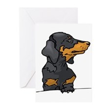 Funny Dog items Greeting Cards (Pk of 10)