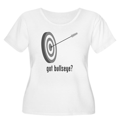Bullseye Women's Plus Size Scoop Neck T-Shirt
