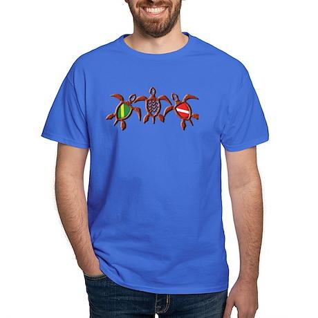 Dive Turtle Band Dark T-Shirt