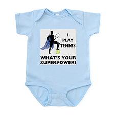 Tennis Superpower Infant Bodysuit