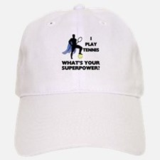 Tennis Superpower Baseball Baseball Cap
