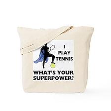 Tennis Superpower Tote Bag