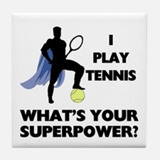 Tennis Superpower Tile Coaster