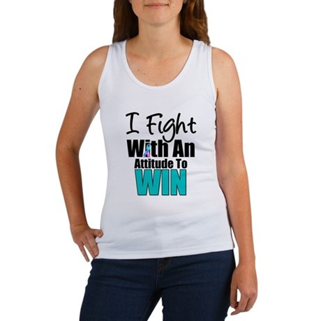 Thyroid Fight Attitude Women's Tank Top