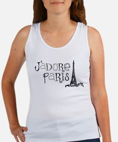 J'adore Paris Women's Tank Top