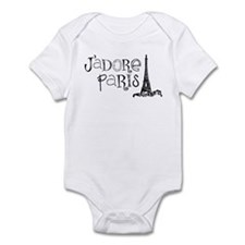 J'adore Paris Infant Bodysuit