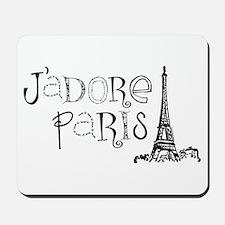 J'adore Paris Mousepad