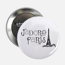 "J'adore Paris 2.25"" Button"