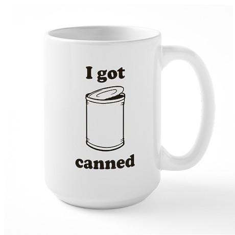 Canned Large Mug