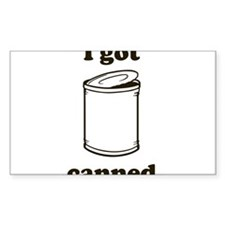 Canned Rectangle Decal