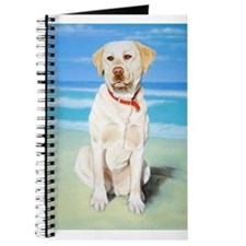 Unique Yellow lab labrador retreivers Journal