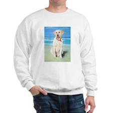 Cute Yellow labradors Sweatshirt