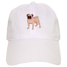 Unique Pug art Baseball Cap
