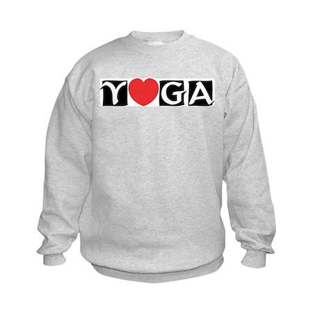 Love Yoga Kids Sweatshirt