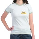 Jam Out With Your Clam Out -  Jr. Ringer T-Shirt